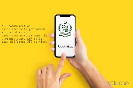 Pakistani government decide to Launch its Own electronic messaging Application
